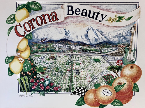 """Corona Beauty"" Limited Edition Prints by Lori Alarcon"