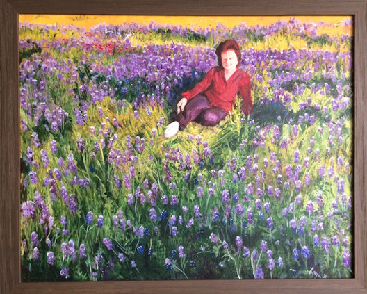 Mom B. In the Blue Bonnets