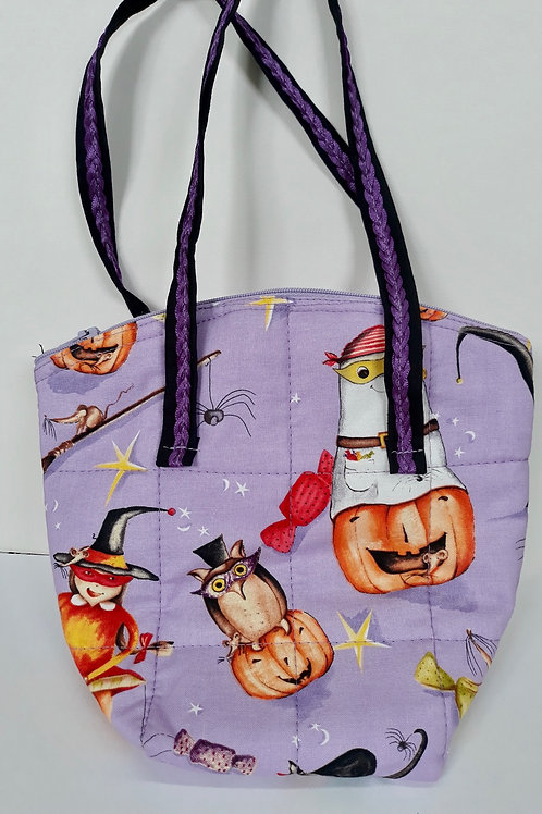 Quilted Halloween Totes