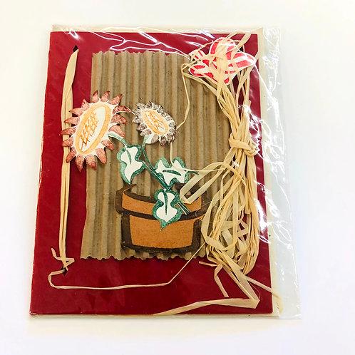 Sunflower Handmade Card