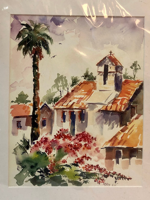 Watercolor Print by Mary Lou Wallace