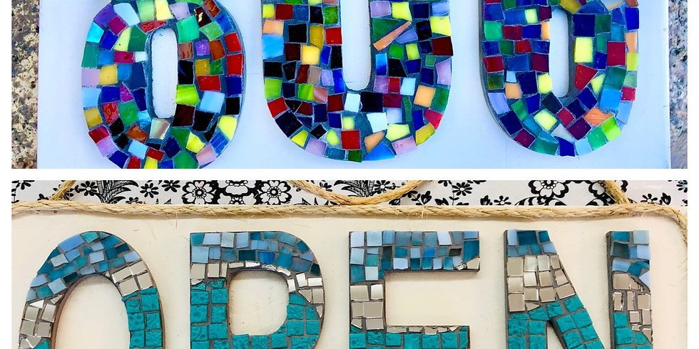 Mosaic House Numbers*