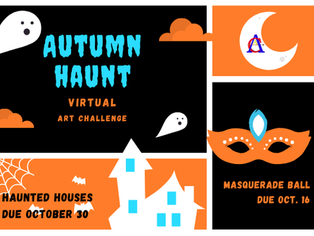 Autumn Haunt Virtual Art Challenge!