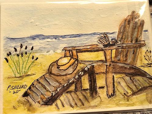 Seashore Original Art Card #19
