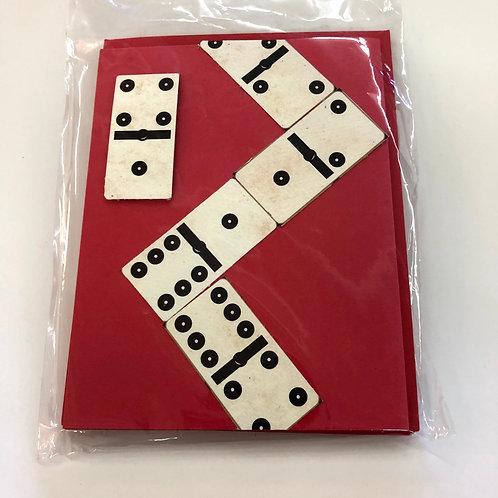 copy of Dominoes 3-pack Handmade Cards #72
