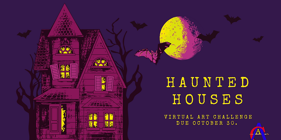 Autumn Haunt Virtual Art Challenge