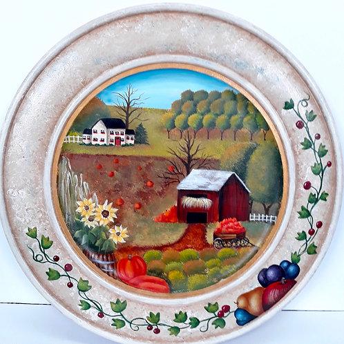 Autumn Plate