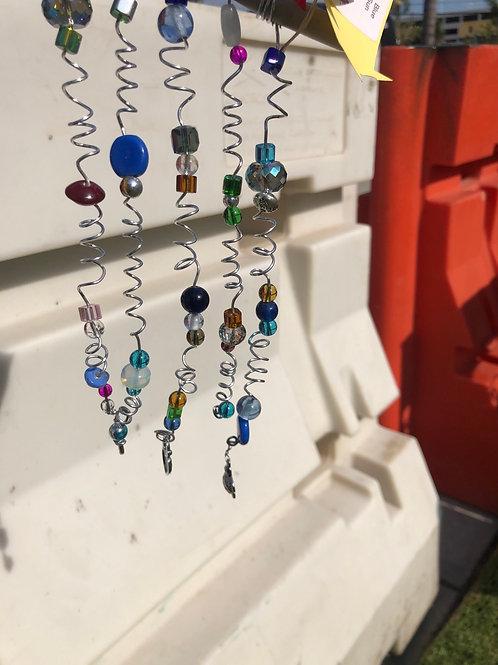 Multicolored Glass Bead suncatcher  #32