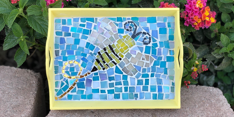 Youth Mosaic Tray Workshop (FREE)