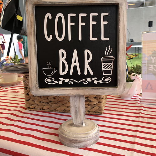 Coffee Bar Sign #33