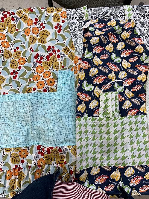 Home-sewn Aprons