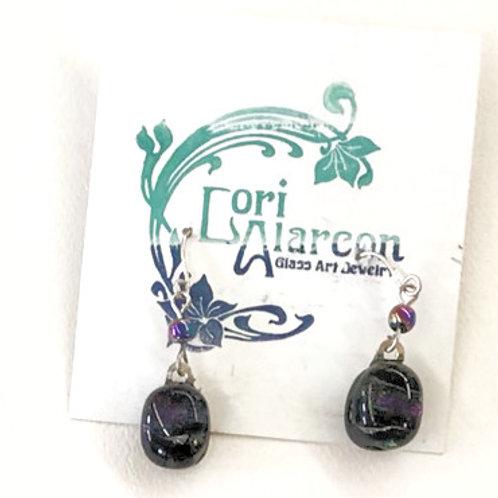 Fused Glass Earrings #6
