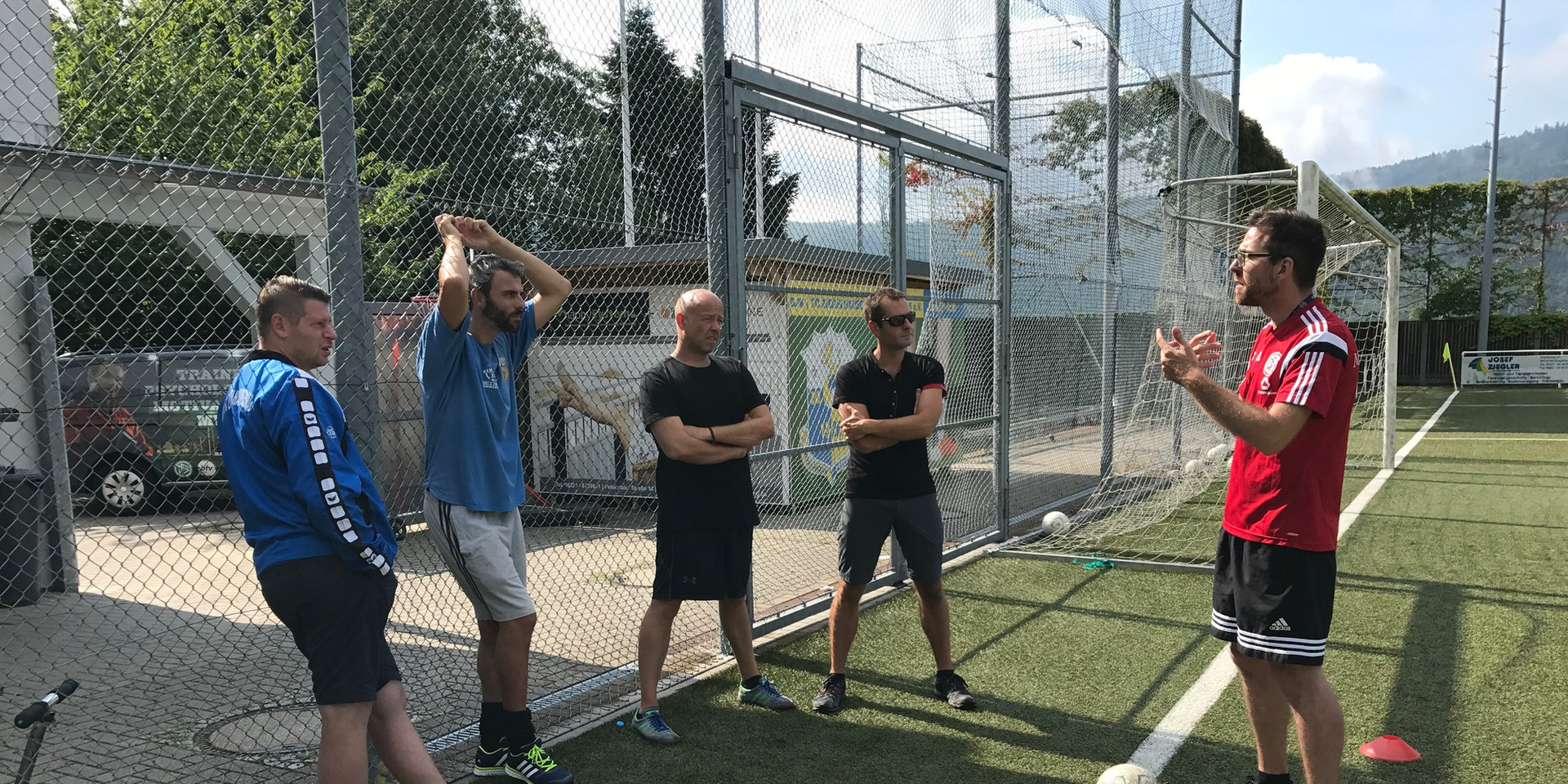 Trainerbesprechung