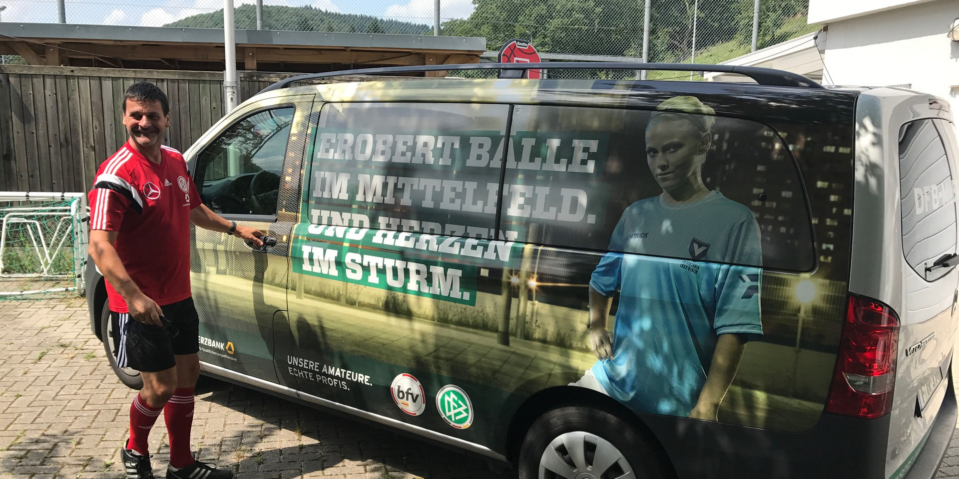 Das DFB-Mobil