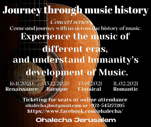 Journey through music history