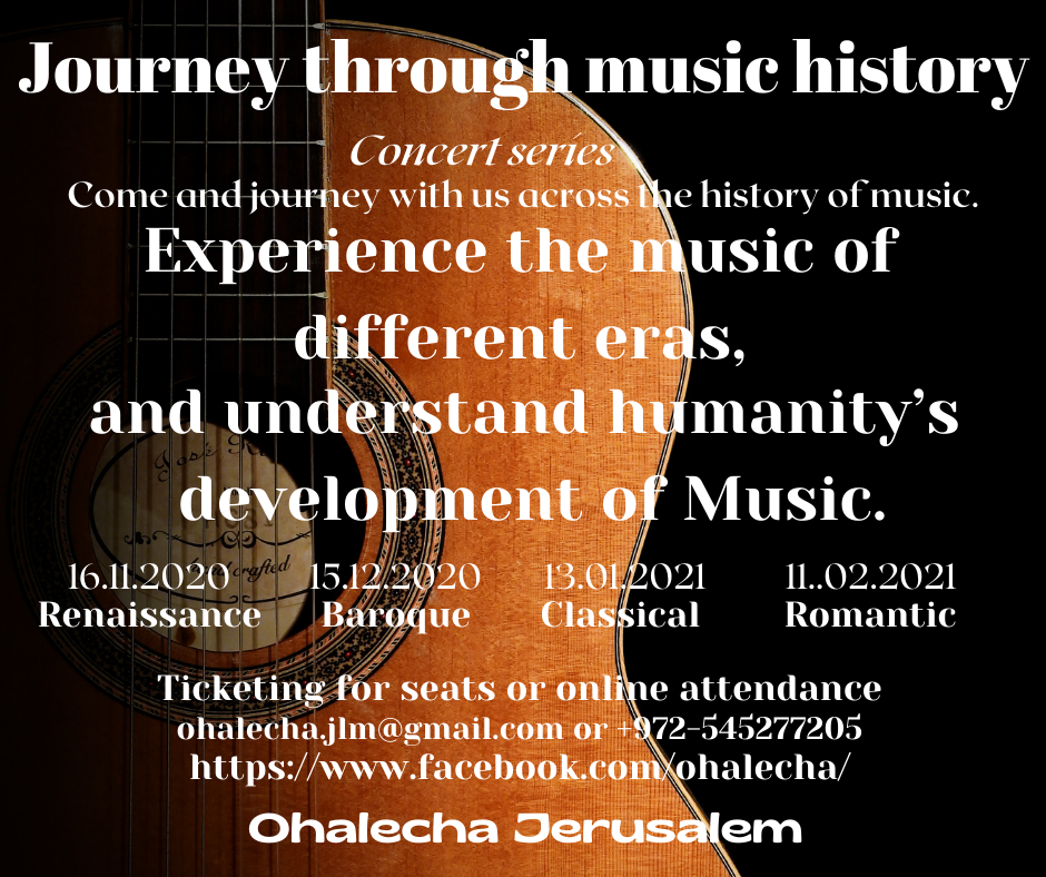 A Journey through music History