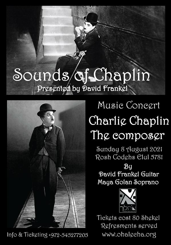 Sounds of Chaplin By David Frankel Ohalecha 5781 5.png