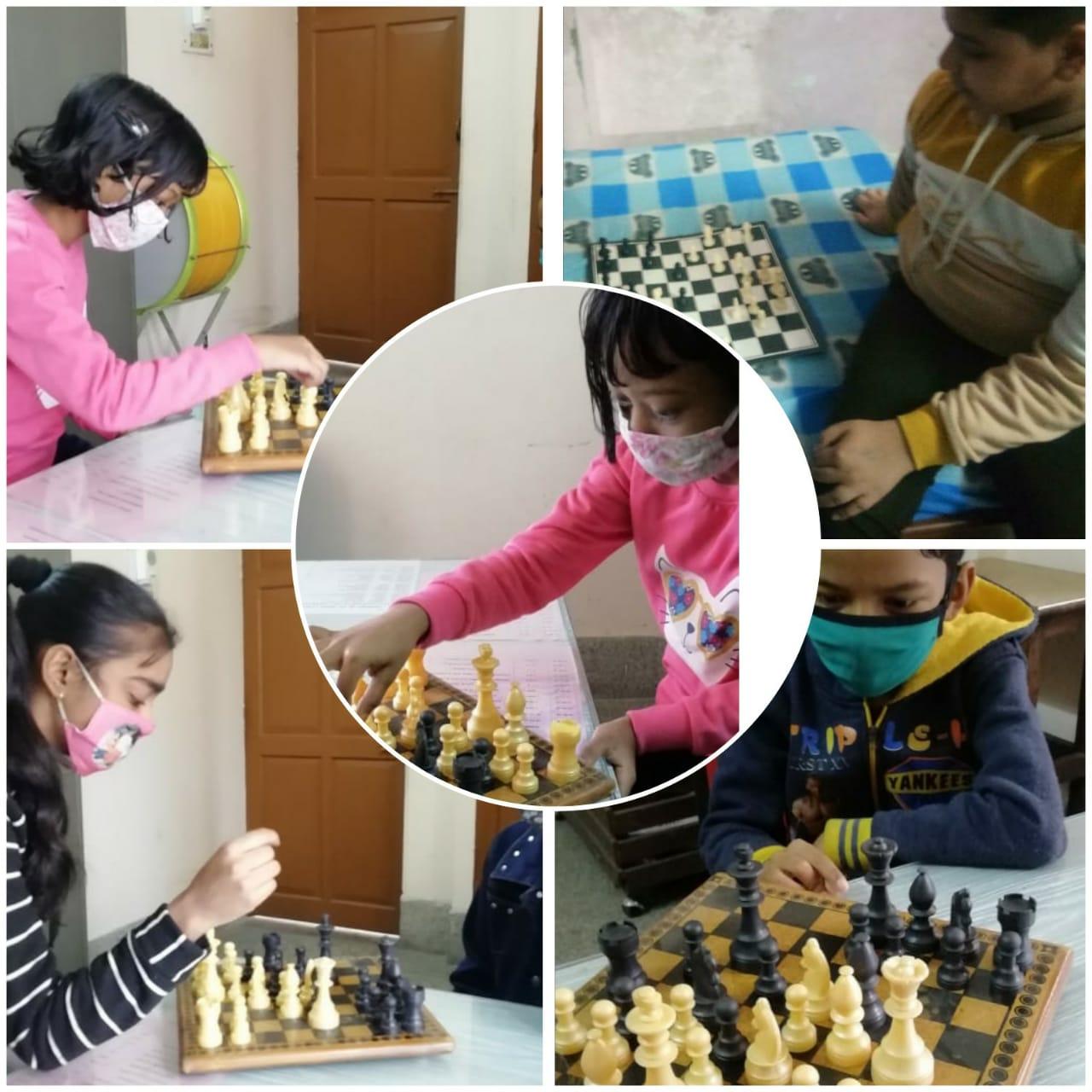Mind gamnes- Chess & Cubes 1