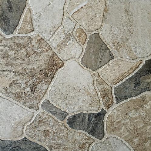 Termal Seramik - 45X45 Valley Stone Yeşil ( Mat )