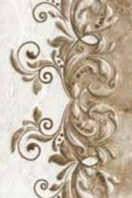 Termal Seramik - 30X60 Breccia Beyaz Dekor ( Parlak )