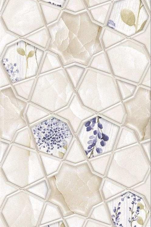Termal Seramik - 30X90 Orıon Flower Dekor R ( Parlak )