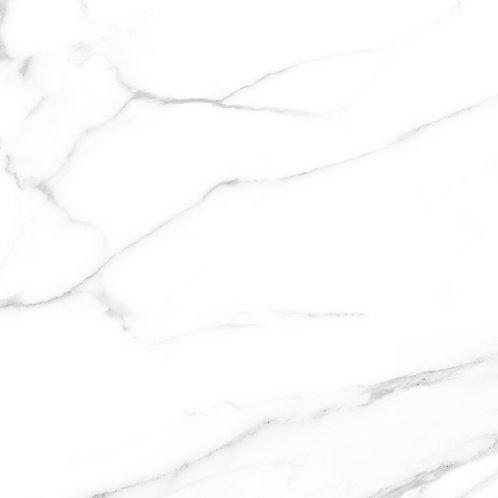 Termal Seramik - 60,5X60,5 New Carrara Hıgh Glossy ( Parlak )