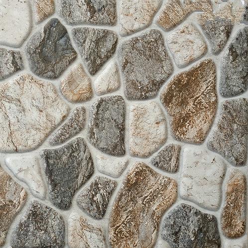 Termal Seramik - 45X45 River Stone Gri ( Yarı Parlak )