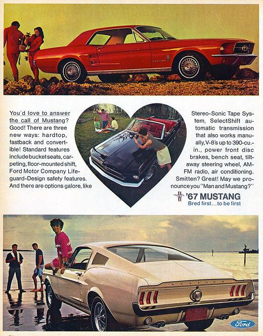 NOS Mustang Exhaust 1967 1968 1969 1970