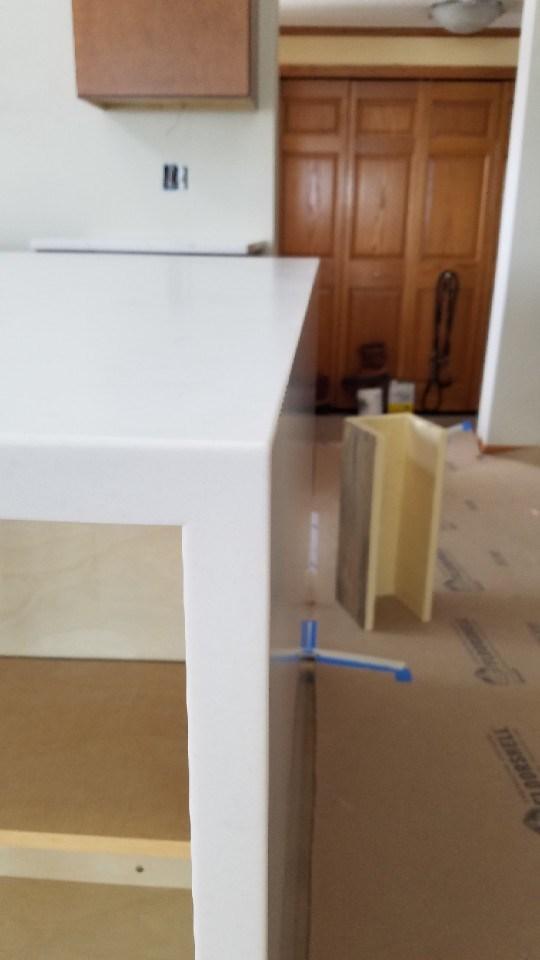 Countertop install