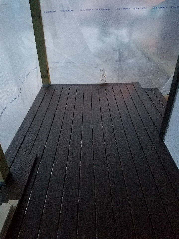 Front porch decking 9