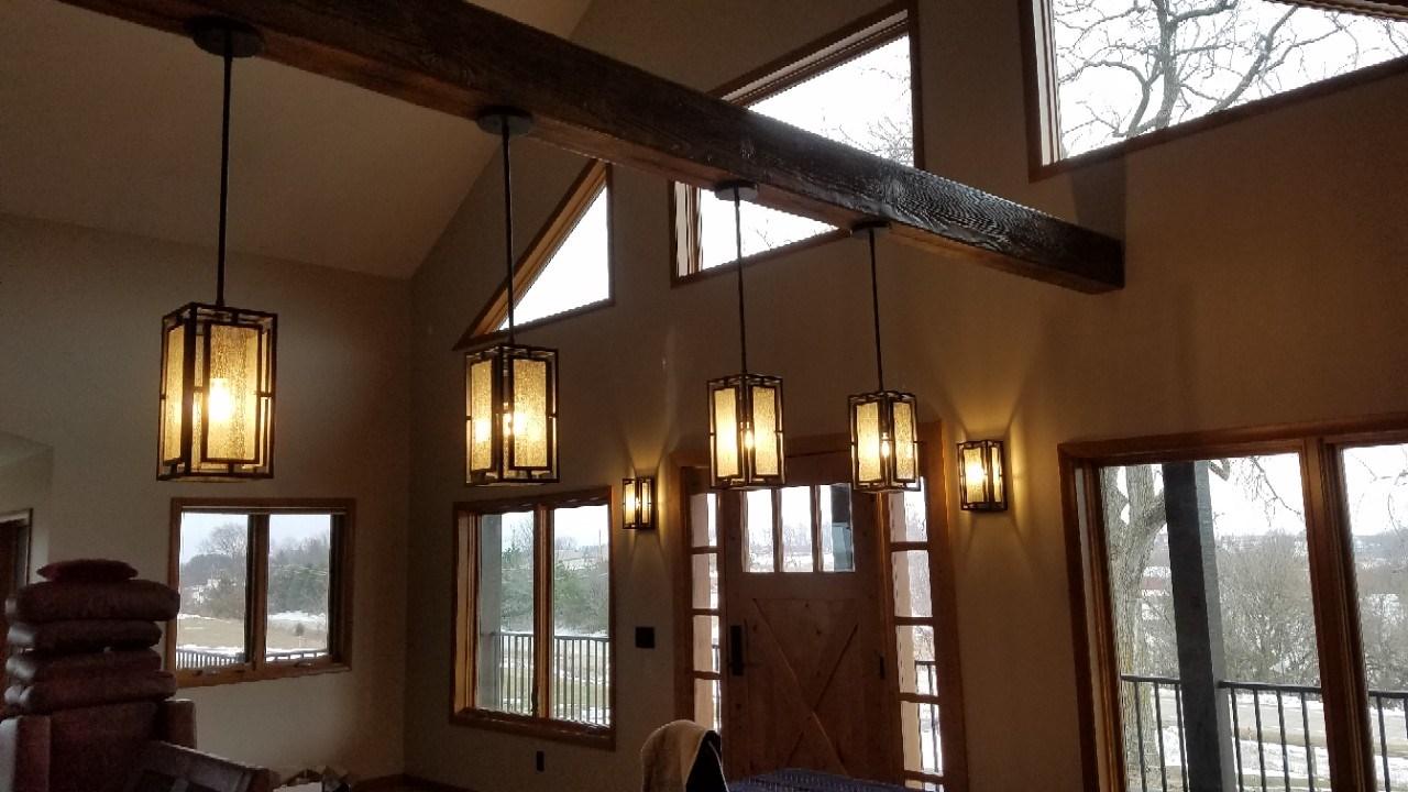 Pendant light install 2