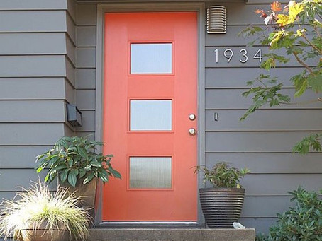 First Impression Can Make a Statement: What color should you paint the front entry door?