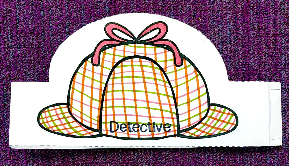 Detective Sherlock Holmes hat printable