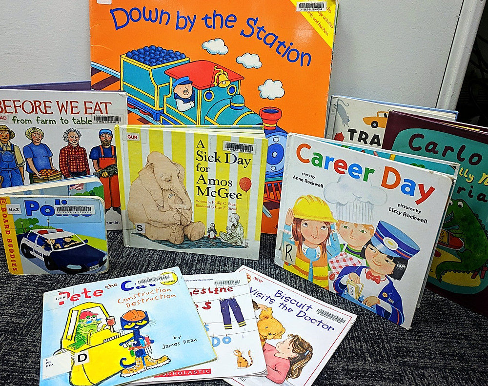 Community helpers books for preschool