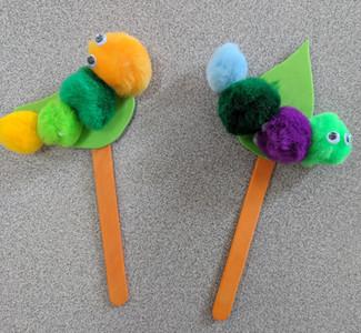 Bookworms Bookmark Craft