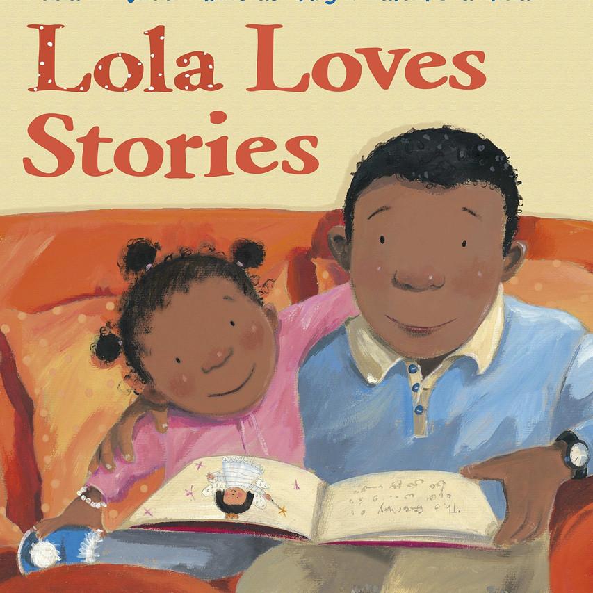 Lola Loves Stories Book