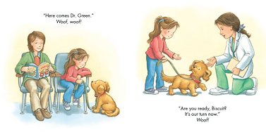 Biscuit Visits the Doctor