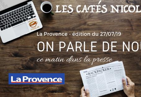 ON PARLE DE NOUS ...ce matin dans la presse