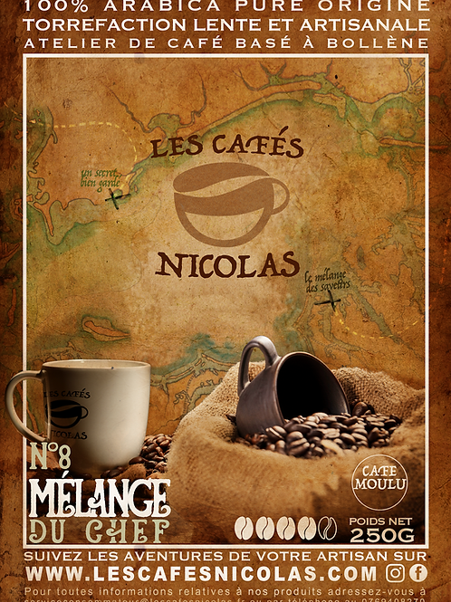 - MELANGE DU CHEF - Les Cafés Nicolas