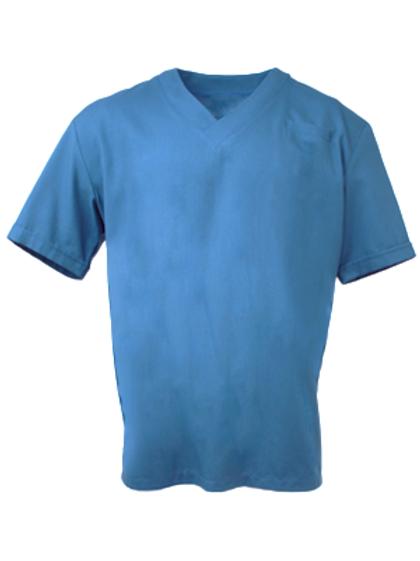 Men's Survival Selection Scrub Top - Mid Blue