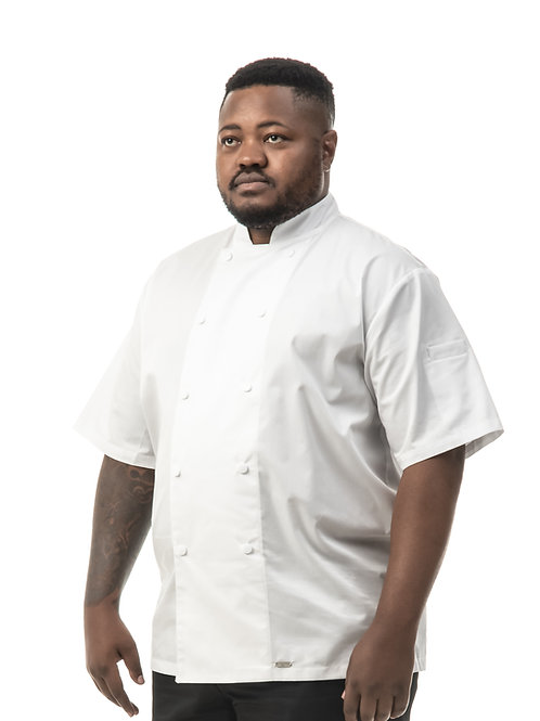 Peppa Short Sleeve Men's Chef Jacket