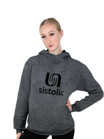 Ladies Crunch Hoody - Heather Charcoal