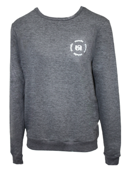 Ladies Team Sweater - Charcoal Grey