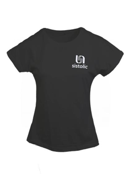 Ladies Burn T-shirt - Black