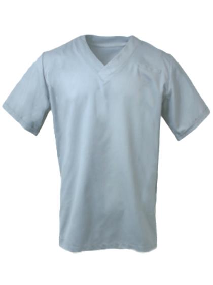 Men's Survival Selection Scrub Top - Light Grey