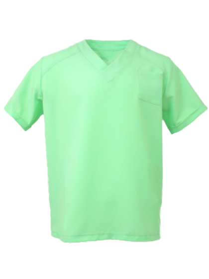 Men's Natural Selection Scrub Top - Mint