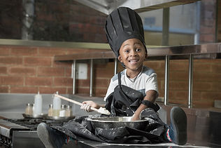 Headwear and Aprons