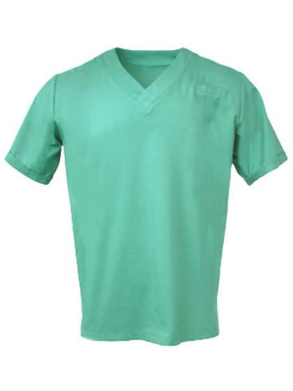 Men's Survival Selection Scrub Top - Sage