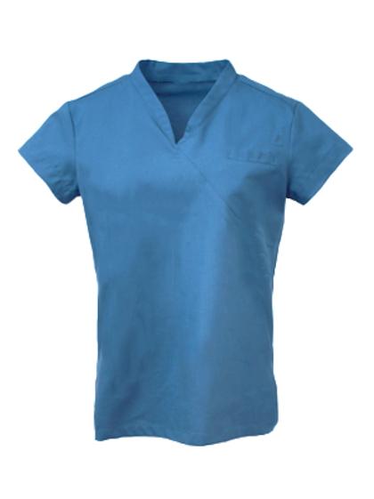 Ladies Survival Selection Scrub Top - Mid Blue