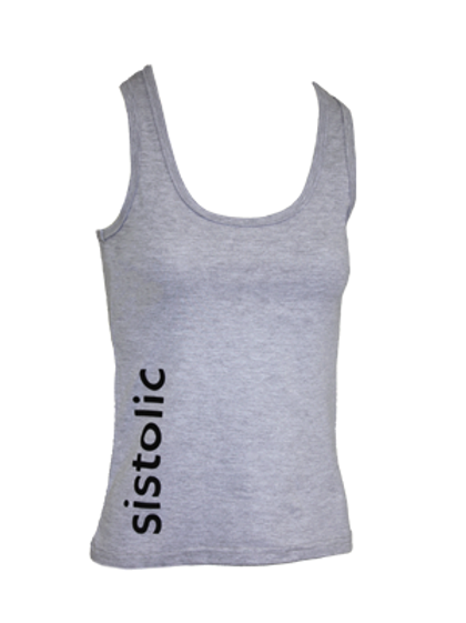 Ladies Cardio Vest - Grey Melange